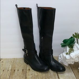 Enzo Angiolini Wide Calf Tall Leather Boots